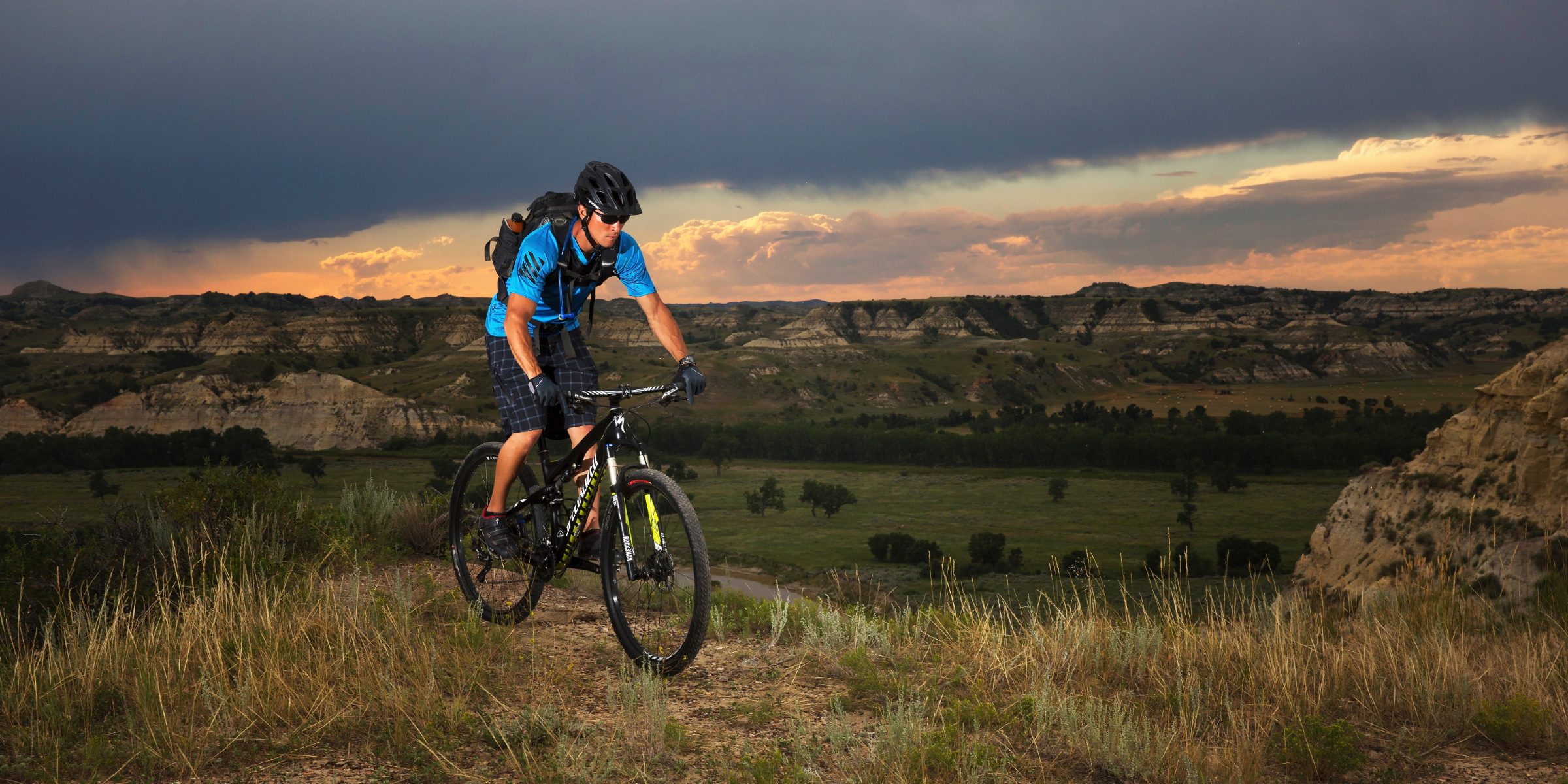 Mountain Biking in the Badlands